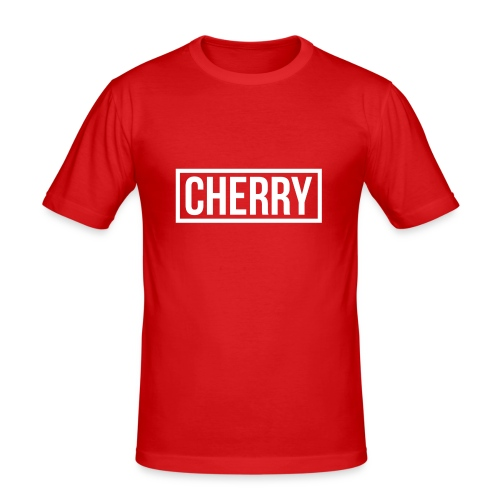 Cherry White - slim fit T-shirt