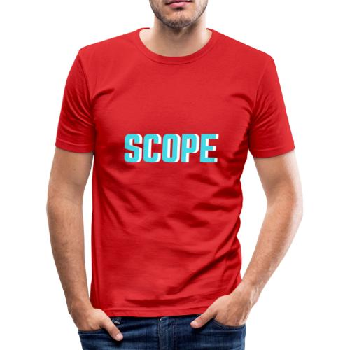 SCOPE BLUE - slim fit T-shirt
