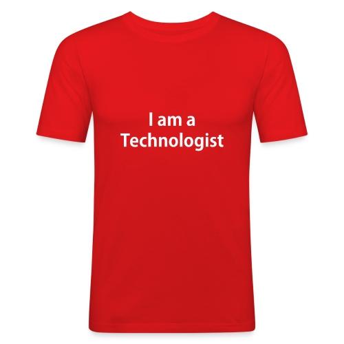Technologist - Men's Slim Fit T-Shirt