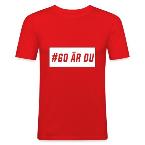 #go är du - Slim Fit T-shirt herr