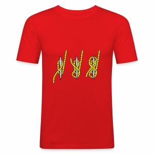 knots - Men's Slim Fit T-Shirt