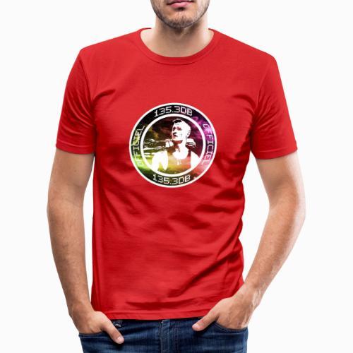 135.3db Officiel Patch colors - T-shirt près du corps Homme