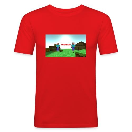 Klær - Slim Fit T-skjorte for menn