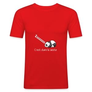 Panda Dodo (Dormir) - Tee shirt près du corps Homme