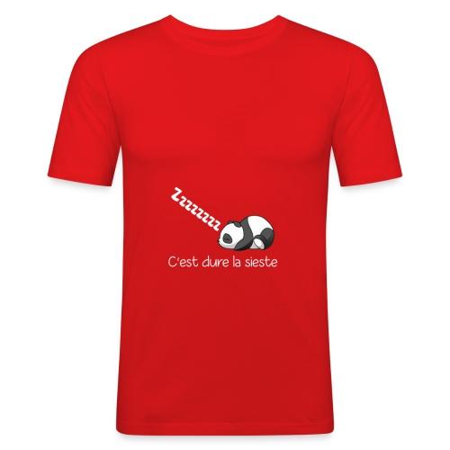 Panda Dodo (Dormir) - T-shirt près du corps Homme