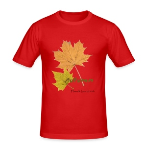 Streetworker art by Marcello Luce - autumn 2018 - Männer Slim Fit T-Shirt