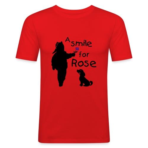 A Smile for Rose - Maglietta aderente da uomo