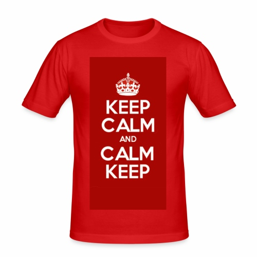 Keep Calm Original Shirt - Men's Slim Fit T-Shirt