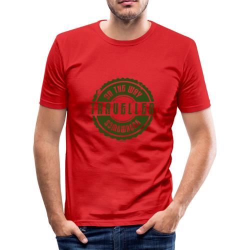 FP13 TR-02 ON THE WAY SOMEWHERE-TRAVELLER PRODUCTS - Miesten tyköistuva t-paita