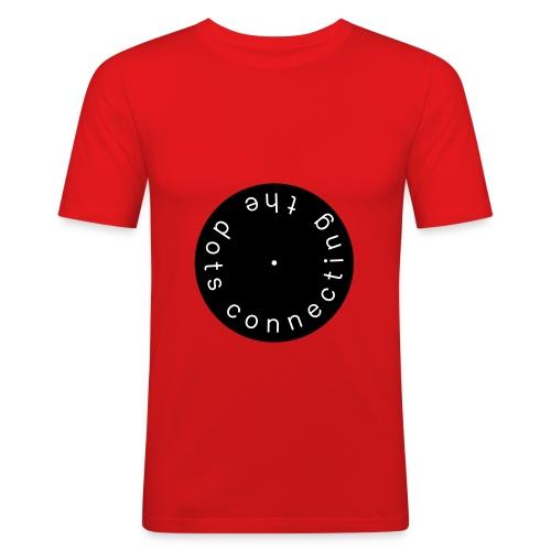 CTD red - slim fit T-shirt