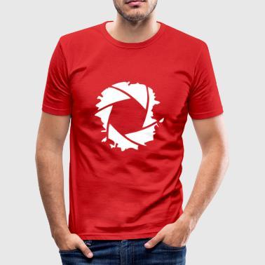 lentille - Tee shirt près du corps Homme