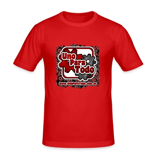 Remera Uno Para Todo mas web - Camiseta ajustada hombre