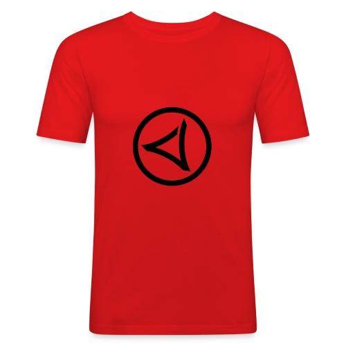LOGO-VIRUS-RECORDS-IN-CYCLE - Obcisła koszulka męska