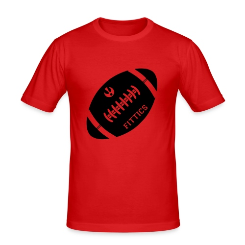 Fittics American Football - Men's Slim Fit T-Shirt