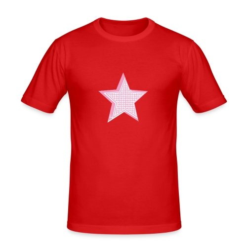 PaliPhone STAR - Männer Slim Fit T-Shirt