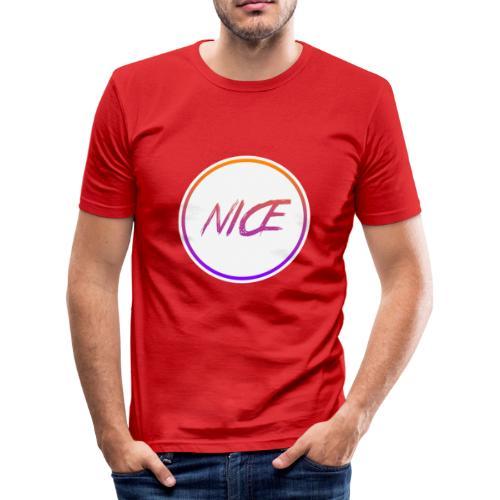 NICE - Männer Slim Fit T-Shirt