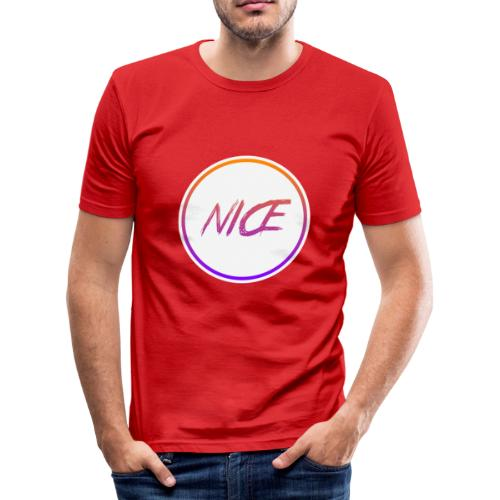 NICE - Männer Slim Fit T-Shirt