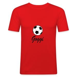 goggis logo - Herre Slim Fit T-Shirt