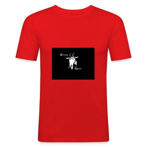witte geit - slim fit T-shirt