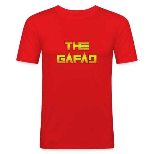 The Gafad - Official Orange/Yellow Logo - Maglietta aderente da uomo