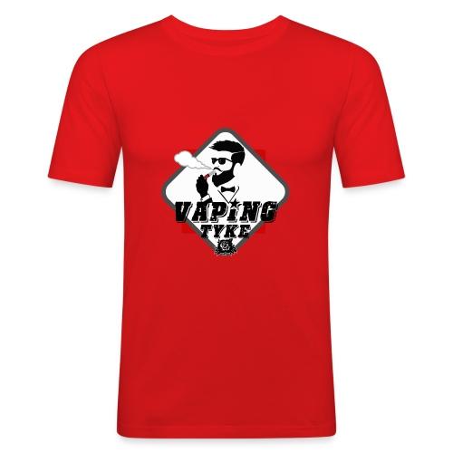 the Vaping tyke - Men's Slim Fit T-Shirt
