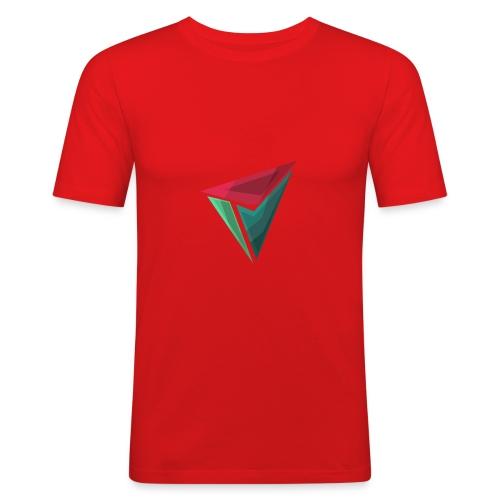 90gQopen T-Shirt | Logga Färg - Slim Fit T-shirt herr