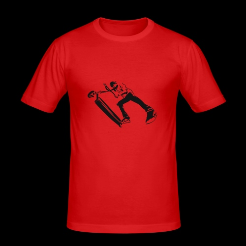 Trot freestyle français - T-shirt près du corps Homme