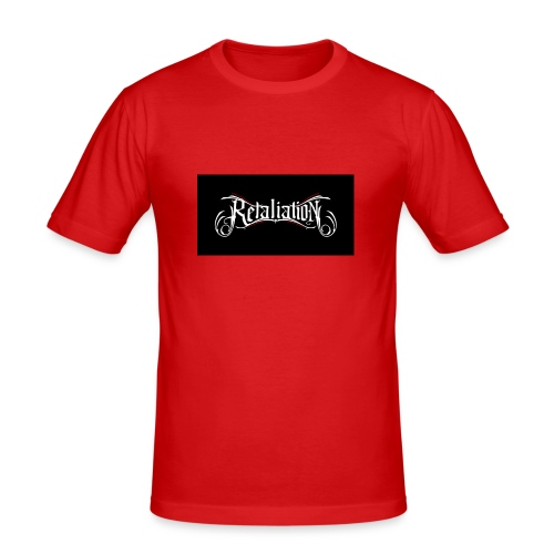 retaliation - Männer Slim Fit T-Shirt