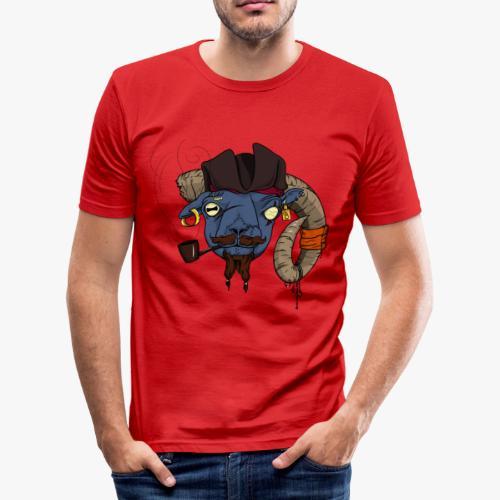 Le Bélier borgne - T-shirt près du corps Homme