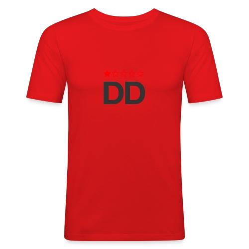 Dårligdommerne simpelt logo - Herre Slim Fit T-Shirt