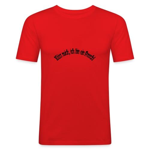 Küss mich, ich bin ein Frosch! - Männer Slim Fit T-Shirt