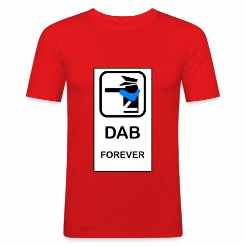 DAB POLICE - Maglietta aderente da uomo