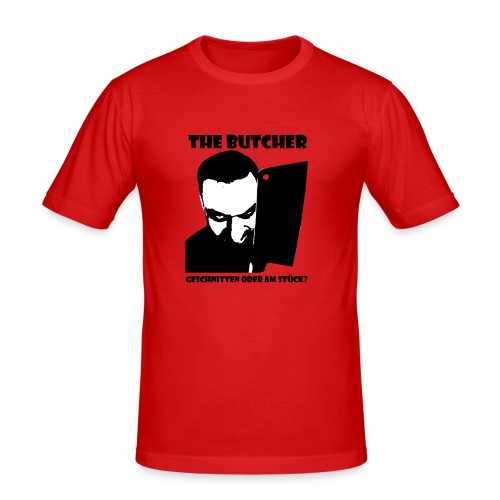 The Butcher - Männer Slim Fit T-Shirt