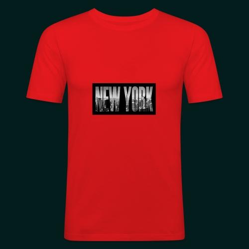 new-york-city-manhattan-overlook-melanie-viola - Slim Fit T-shirt herr