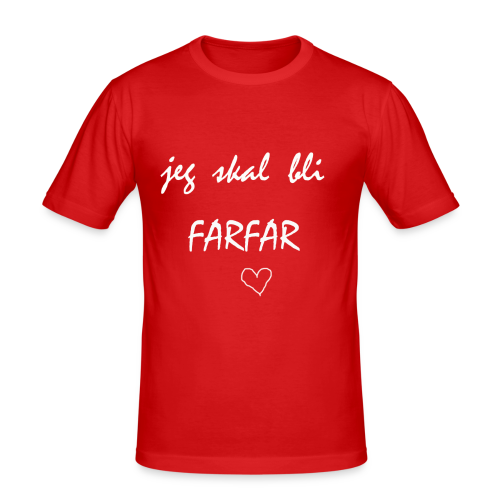 Farfar Collection - Slim Fit T-skjorte for menn