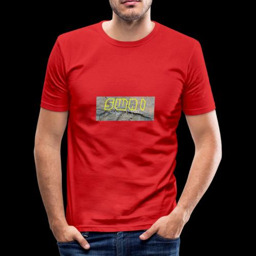 swai stoned yellow - Männer Slim Fit T-Shirt