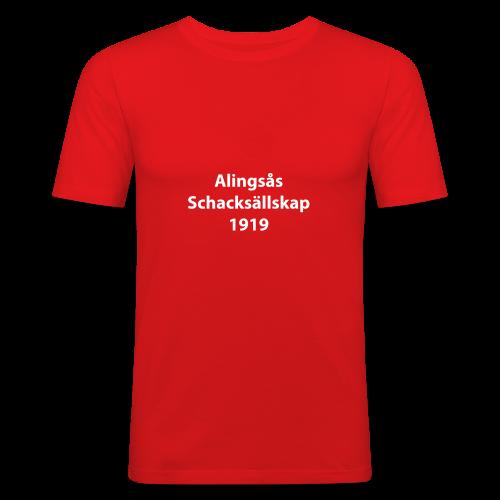 Alingsås Schacksällskap, 1919 - Slim Fit T-shirt herr