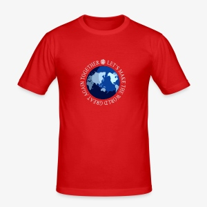 Let s Make The World Great Again - Tee shirt près du corps Homme