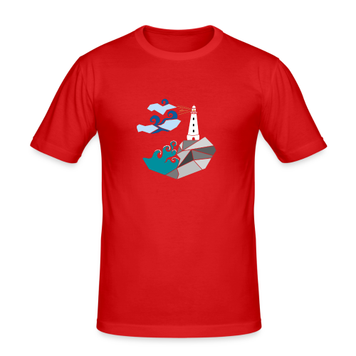 lighthouse - Men's Slim Fit T-Shirt