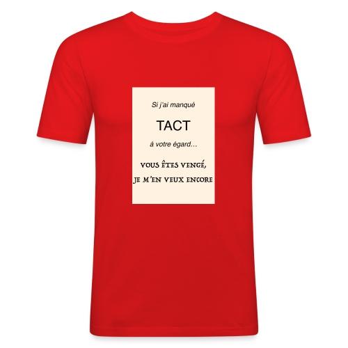 Tact_pour_spread_-_1 - T-shirt près du corps Homme
