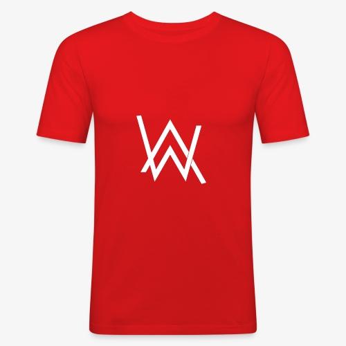 aw - Men's Slim Fit T-Shirt