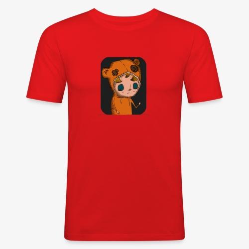 KOZY PILL - (Dotted) - Men's Slim Fit T-Shirt
