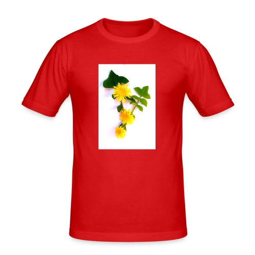 Margaritas 3d by The Cat Project - Camiseta ajustada hombre