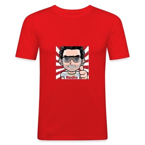 RadioLive - T-shirt près du corps Homme