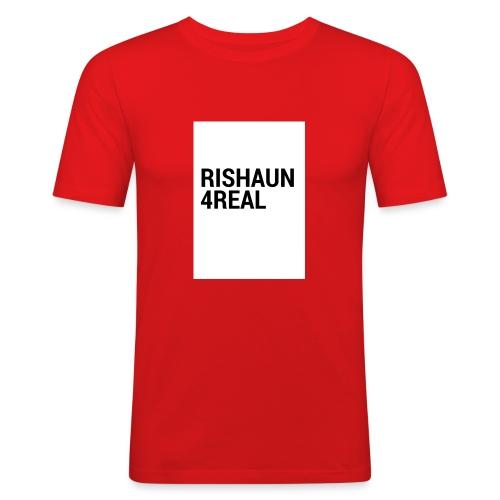 rishaun 4real original - Men's Slim Fit T-Shirt