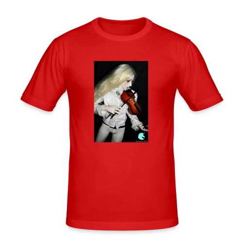 Vampire Violin Gothic Music Fantasy Enchanted - Men's Slim Fit T-Shirt