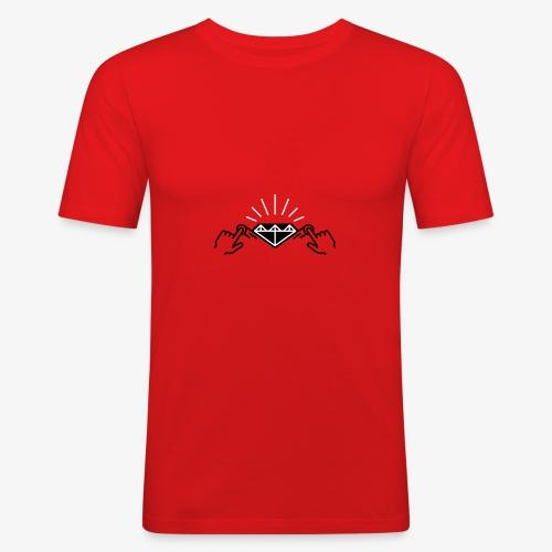diamond black by A3'rt - T-shirt près du corps Homme
