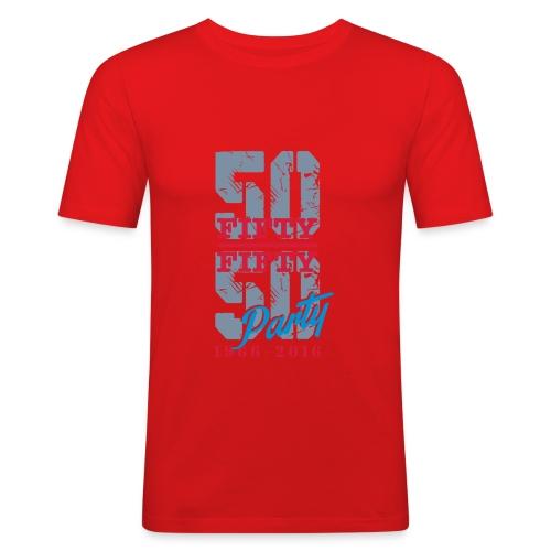petit logo - T-shirt près du corps Homme