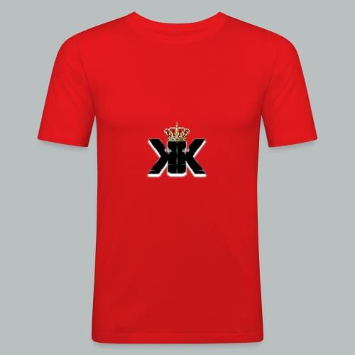KaosKnight Logo - Männer Slim Fit T-Shirt