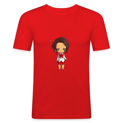 Chibi Amelia by Calyss - T-shirt près du corps Homme